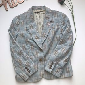 ANTHROPOLOGIE Daughters of the Liberation Blazer-6